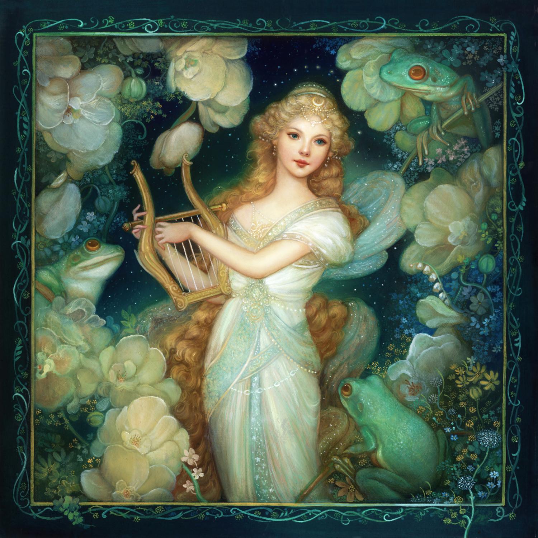 Moonlight Reverie Artwork by Annie Stegg