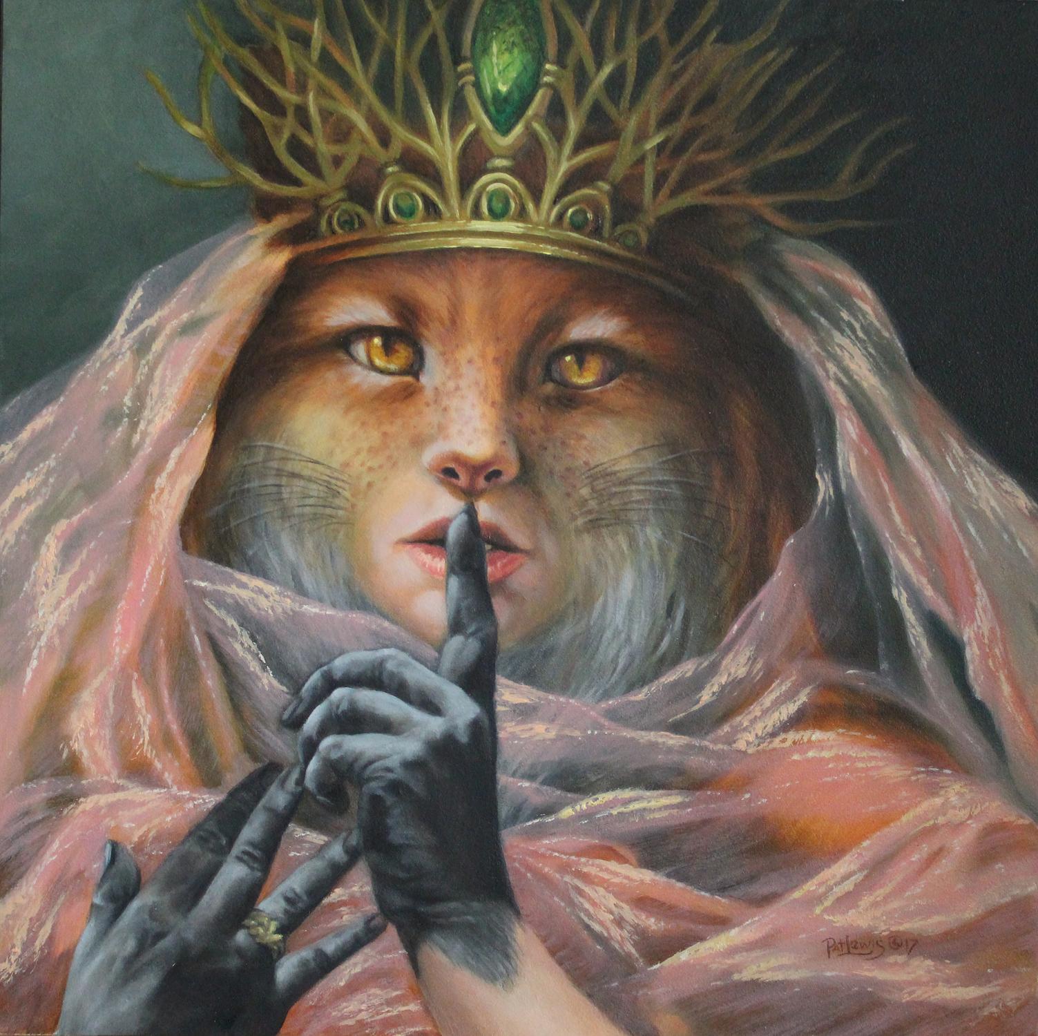 Fox Queen Artwork by Pat morrissey-Lewis