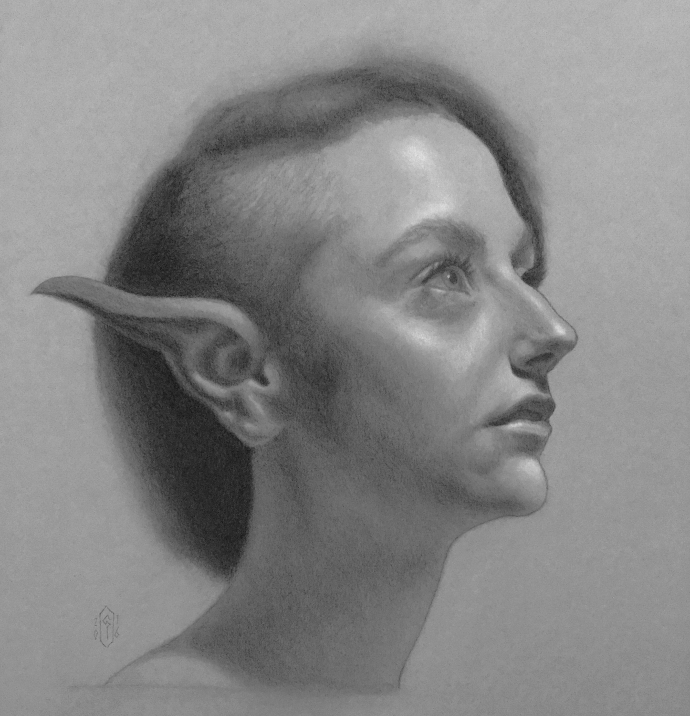 Elven Artwork by Peter  Green