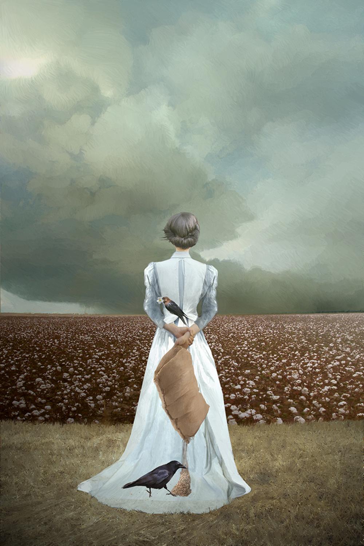 Harbinger of Famine Artwork by Elizabeth Leggett