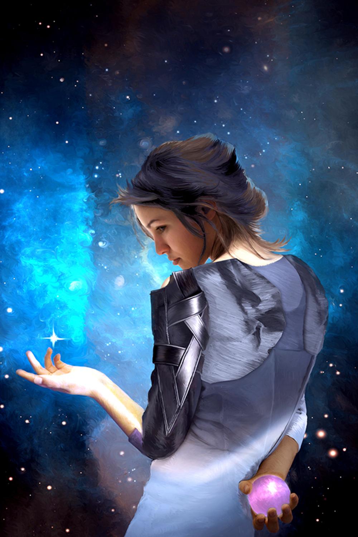 Alchemi's Spark Artwork by Elizabeth Leggett