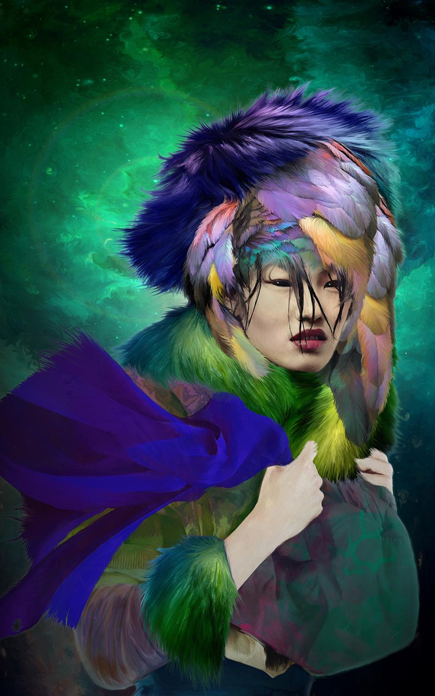 Borealis Artwork by Elizabeth Leggett