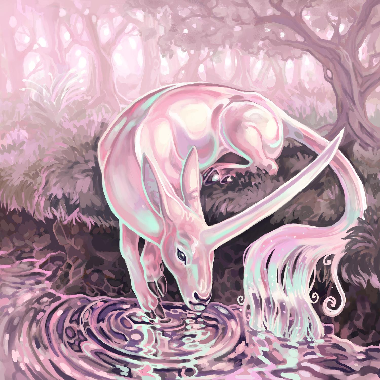 Crystal Pond Artwork by Blake Downing