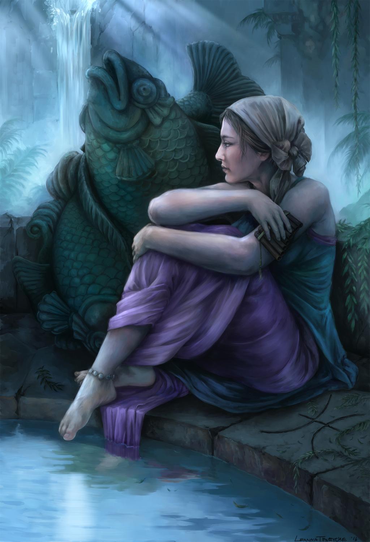 Pisces Artwork by Leanna TenEycke