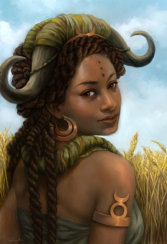Taurus Artwork by Leanna TenEycke