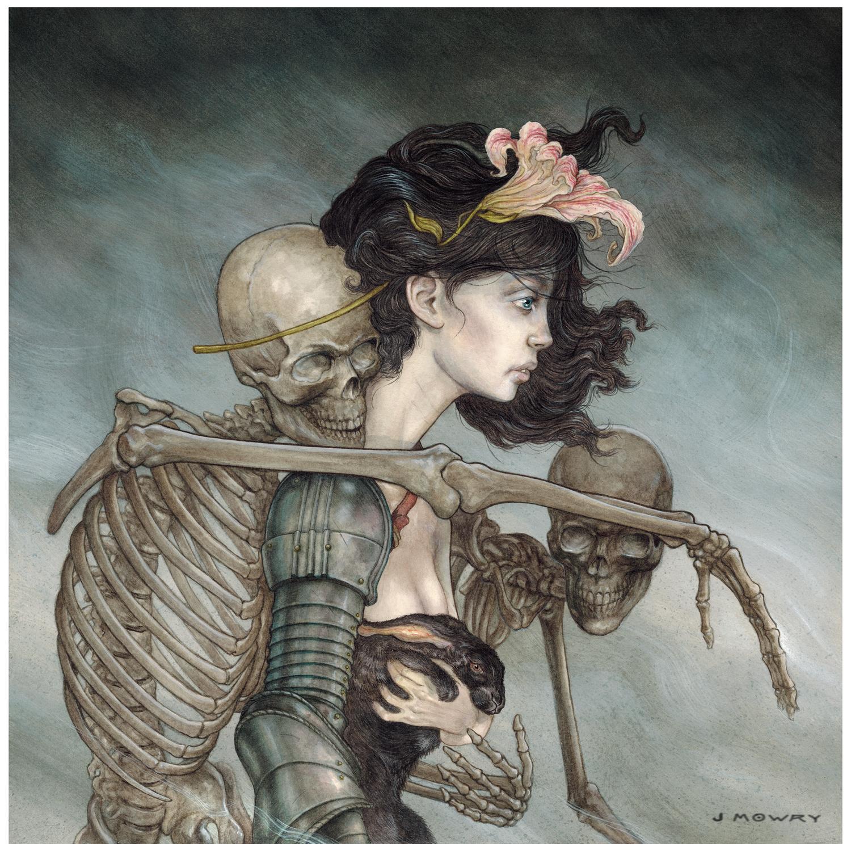 The Burden of Bones Artwork by Jason Mowry