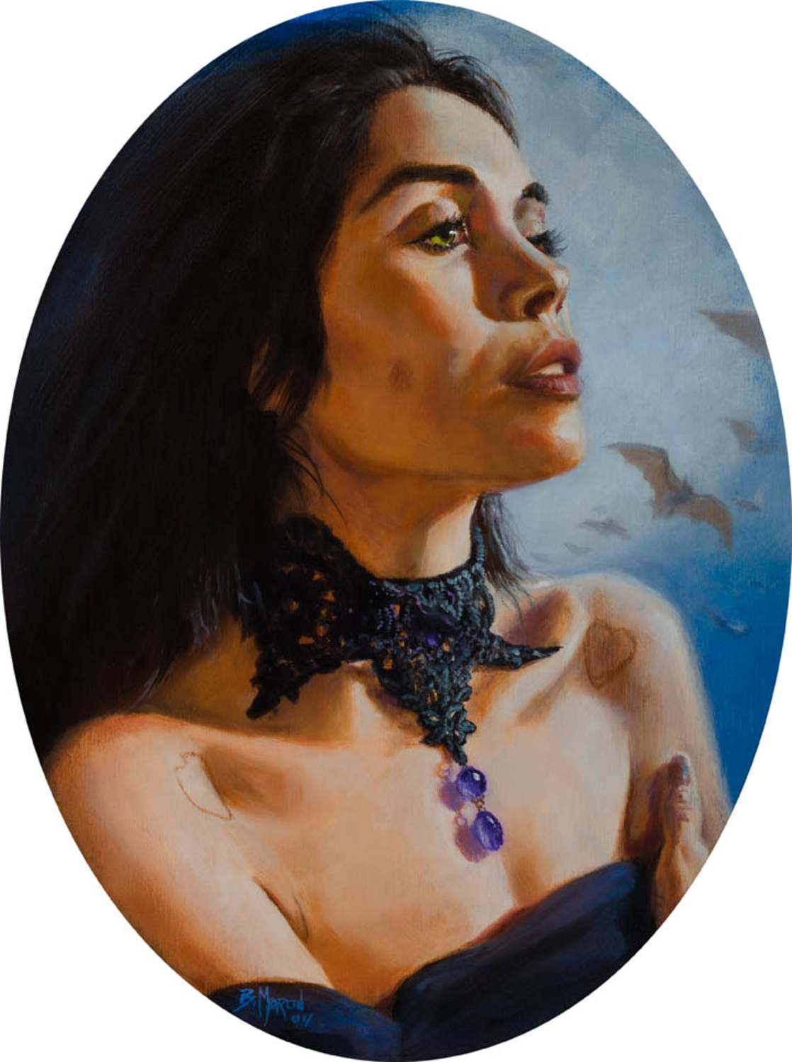 Witchy Woman III Artwork by Britt Martin