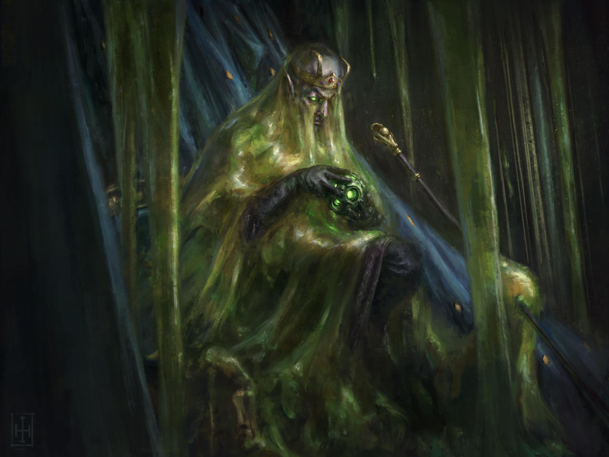 Slime King Artwork by Ian Hinley
