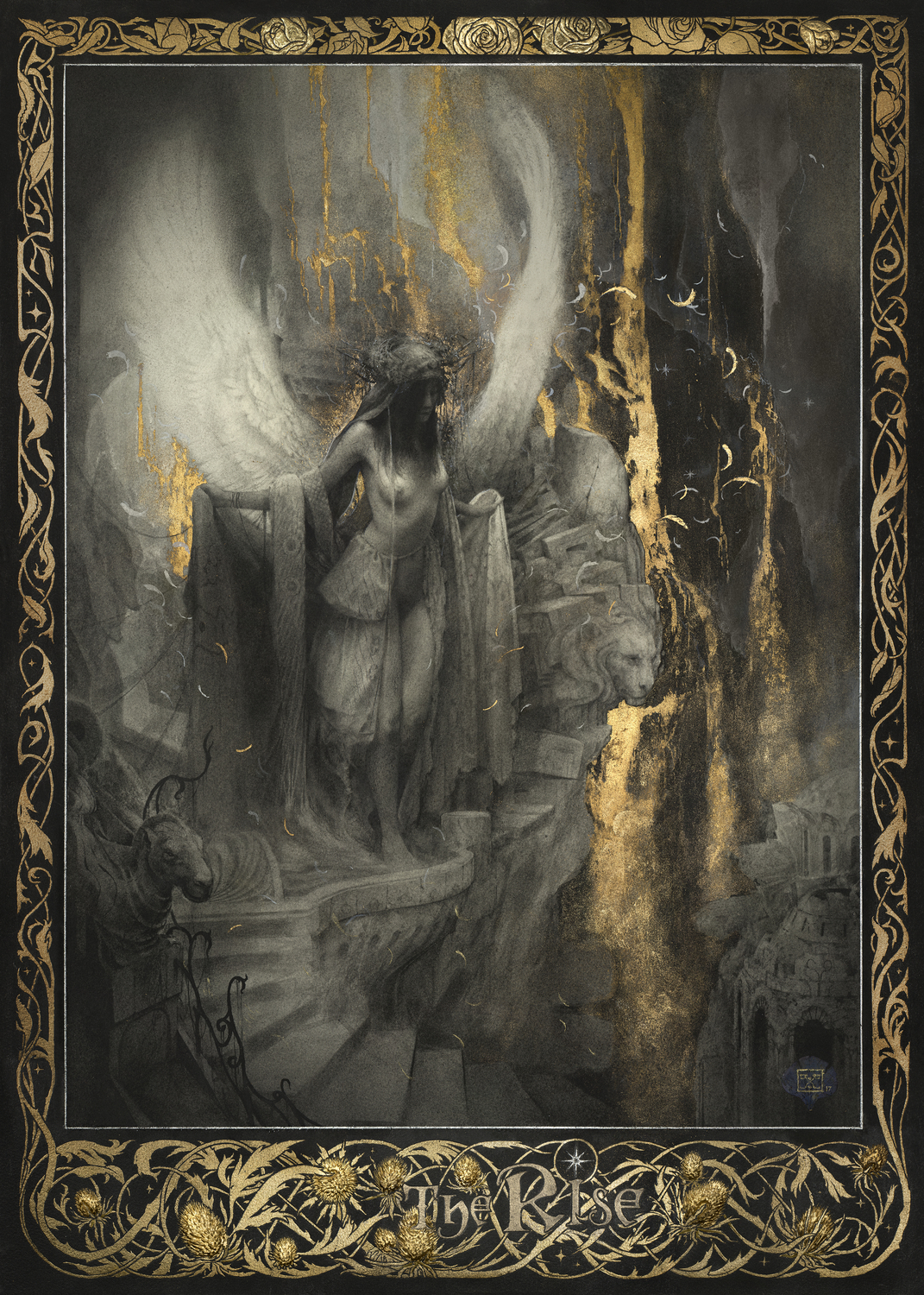 The Rise Artwork by Yoann Lossel