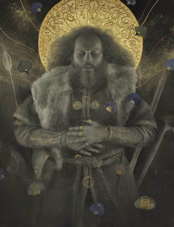 Beowulf - Beowulf's Funeral Artwork by Yoann Lossel