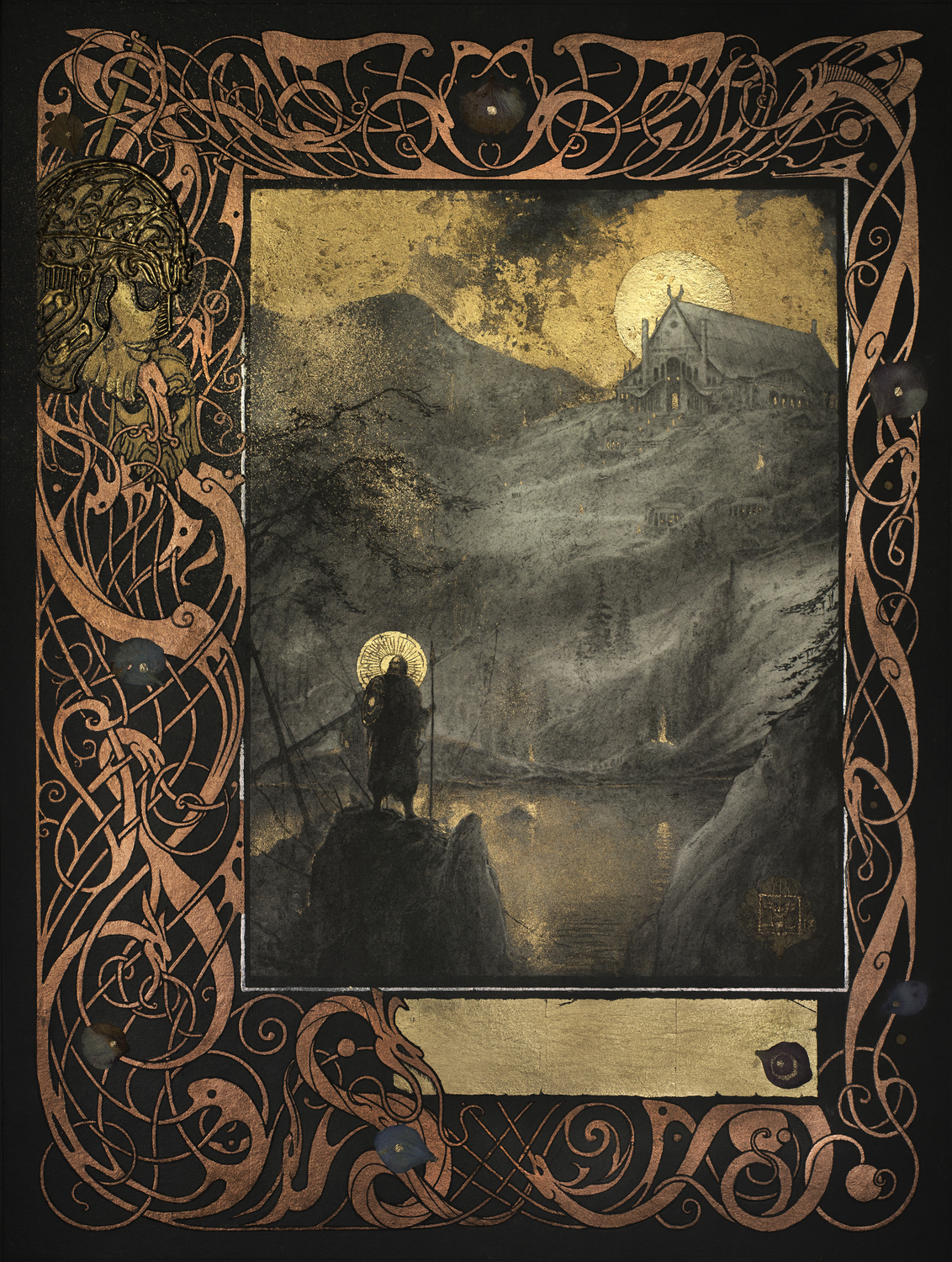 Beowulf - Heorot Artwork by Yoann Lossel