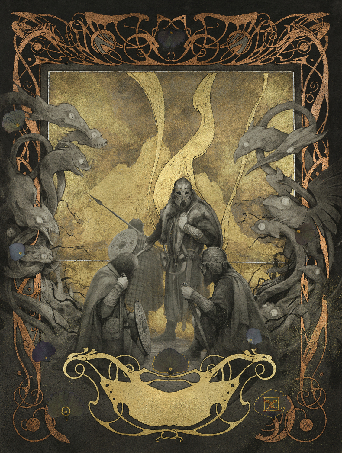 Beowulf - Grendel's Mother Mare Artwork by Yoann Lossel