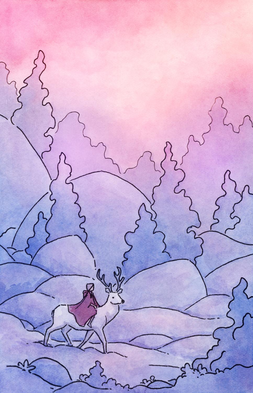 Miles to Go Before I Sleep Artwork by Naomi VanDoren