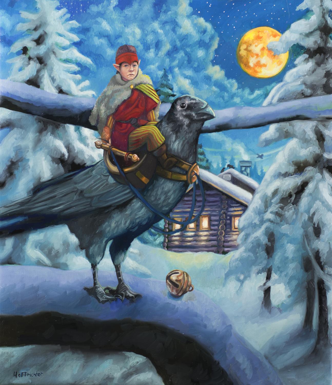 The Raven Prince Artwork by David Hoffrichter