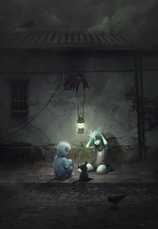 Peek-A-Boo Artwork by Sebastian Kowoll