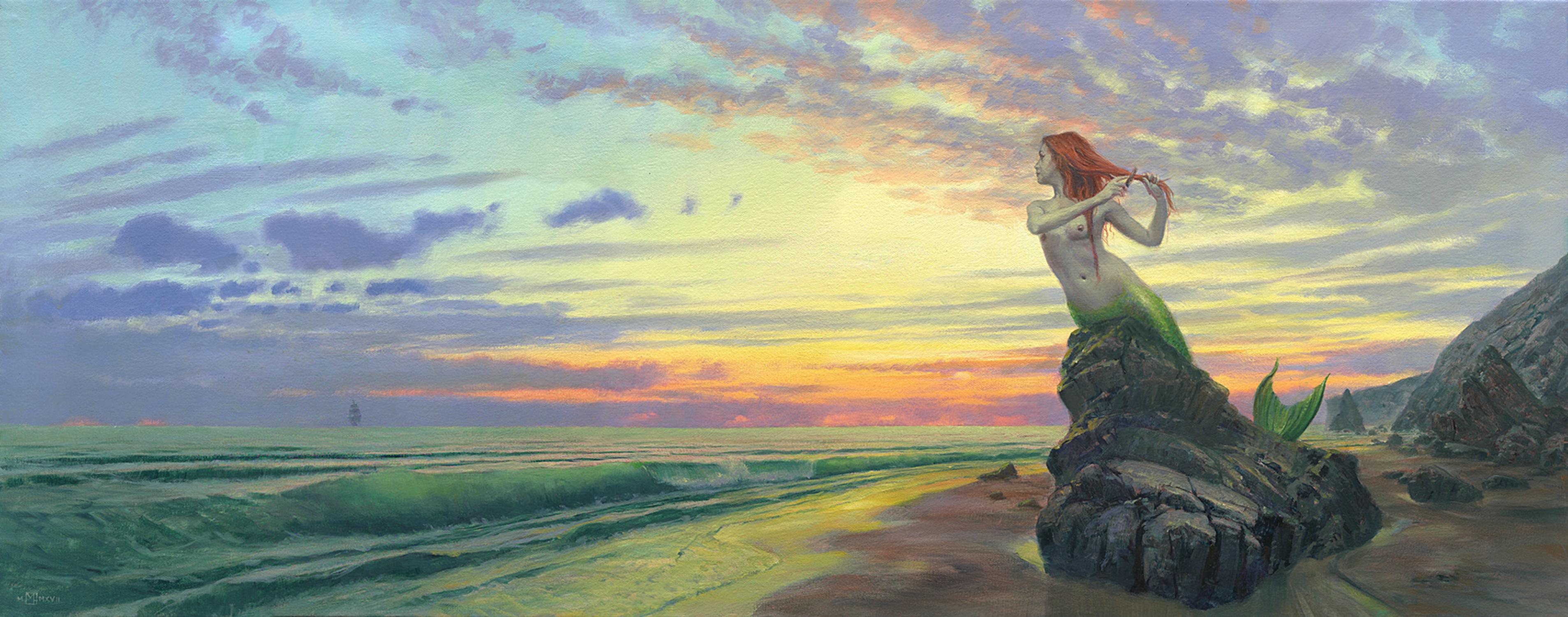 Siren's Dawn Artwork by Mark Harrison