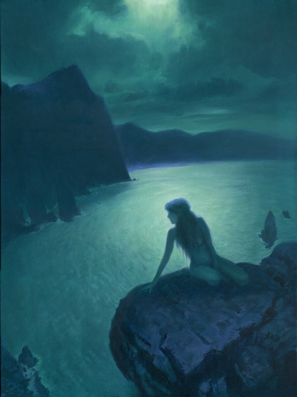 Midnight Bay Artwork by Mark Harrison