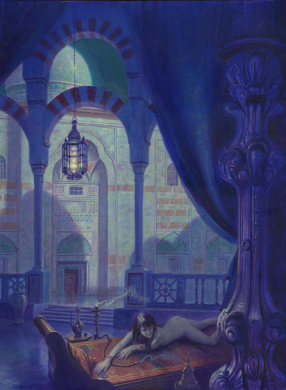 Moonlight In The Seraglio Artwork by Mark Harrison