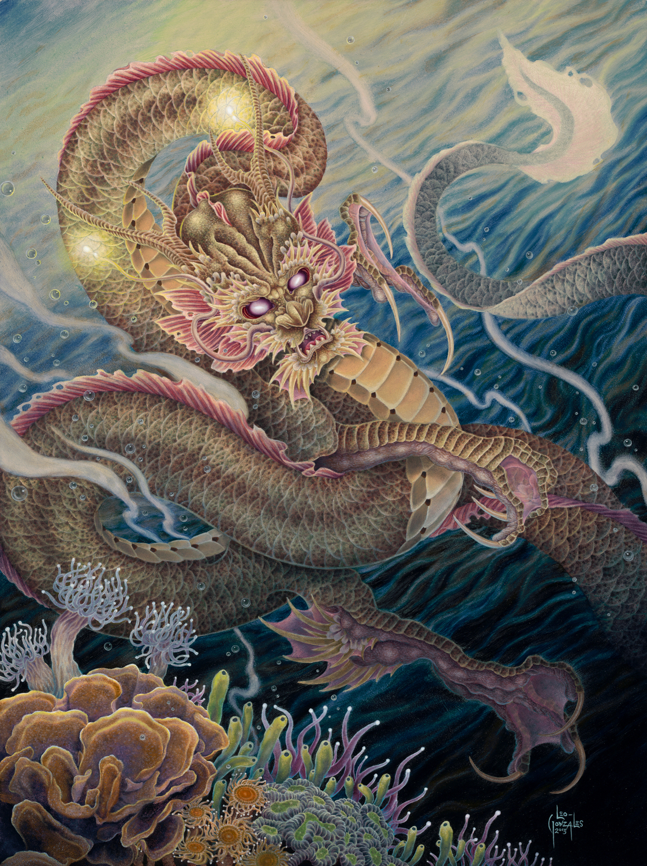 Desu Ryū Artwork by Leo Gonzales