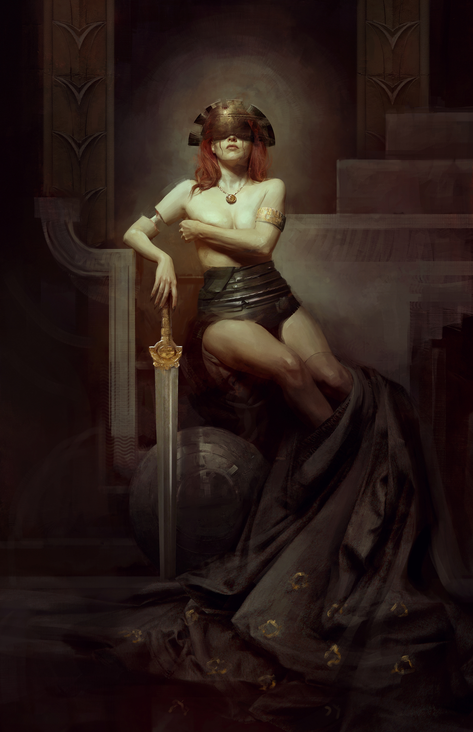 Shaparaah Artwork by Bastien Lecouffe Deharme