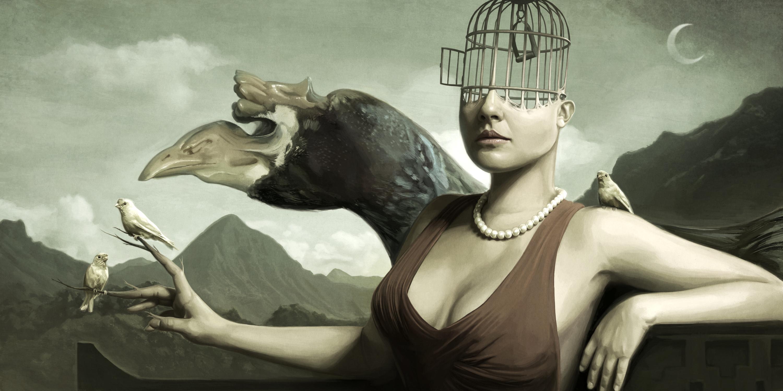Bird Queen Artwork by David Seidman