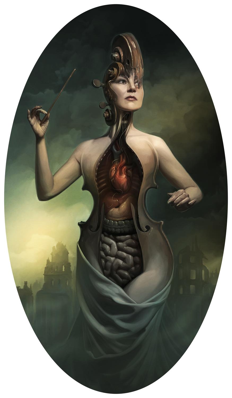 Kapralova the Composer Artwork by David Seidman