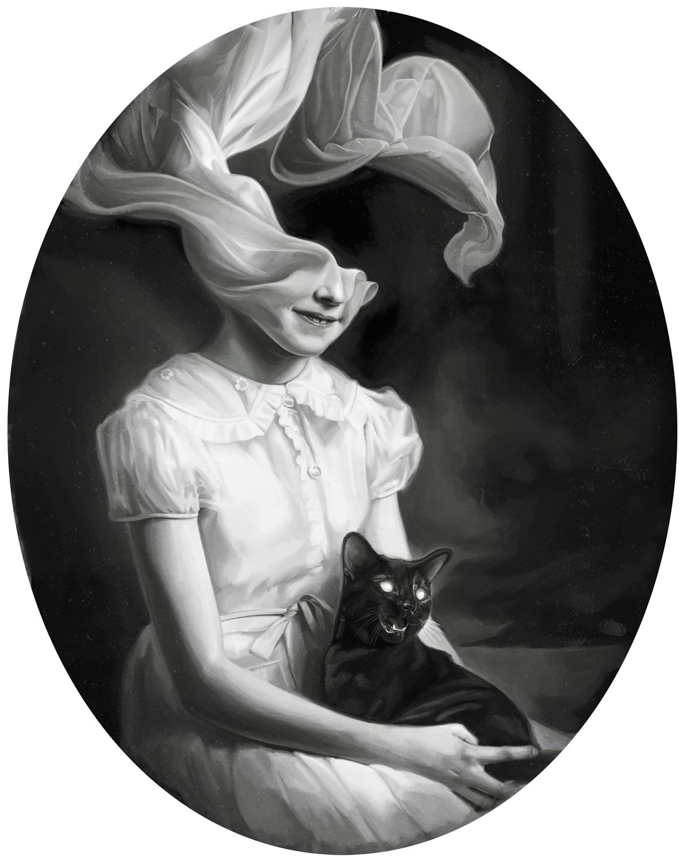Manifestation III: The Cat Artwork by David Seidman
