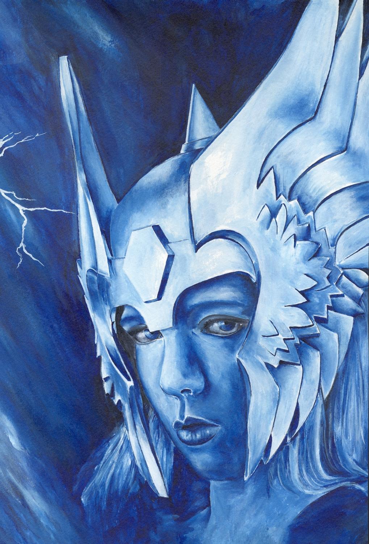 Asgardian Artwork by Kip Mussatt