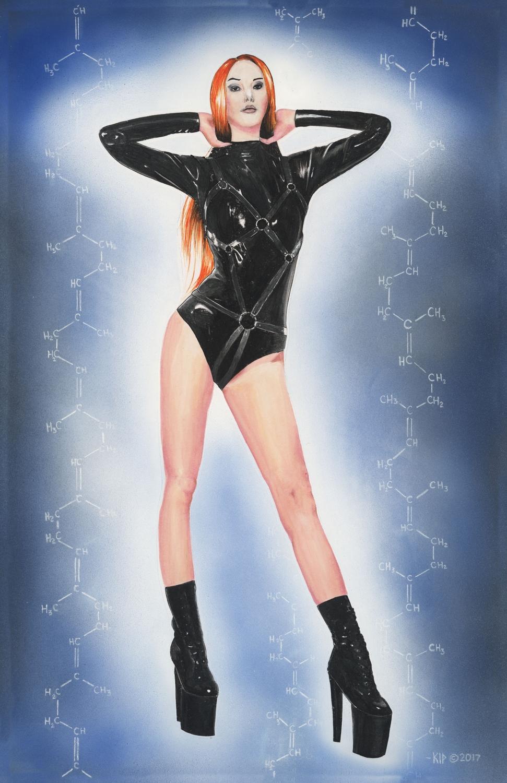 Vitamin Latex Artwork by Kip Mussatt