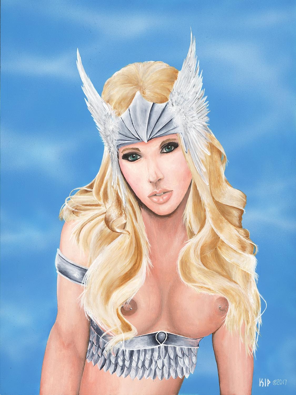 Freyja Artwork by Kip Mussatt