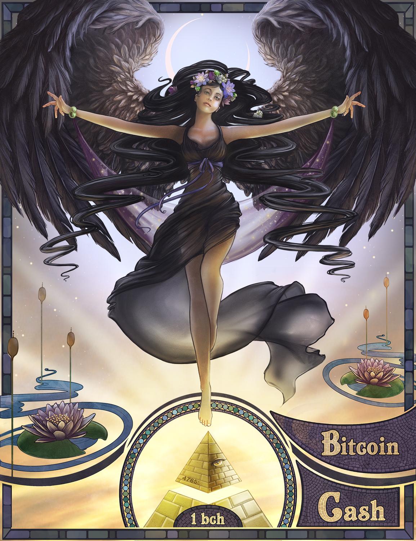 Black Swan Artwork by Christina Hess