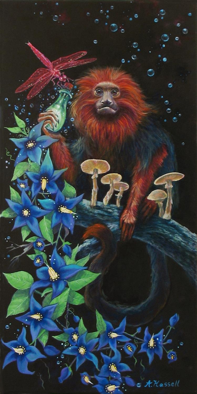 Secrets Artwork by Annette Hassell