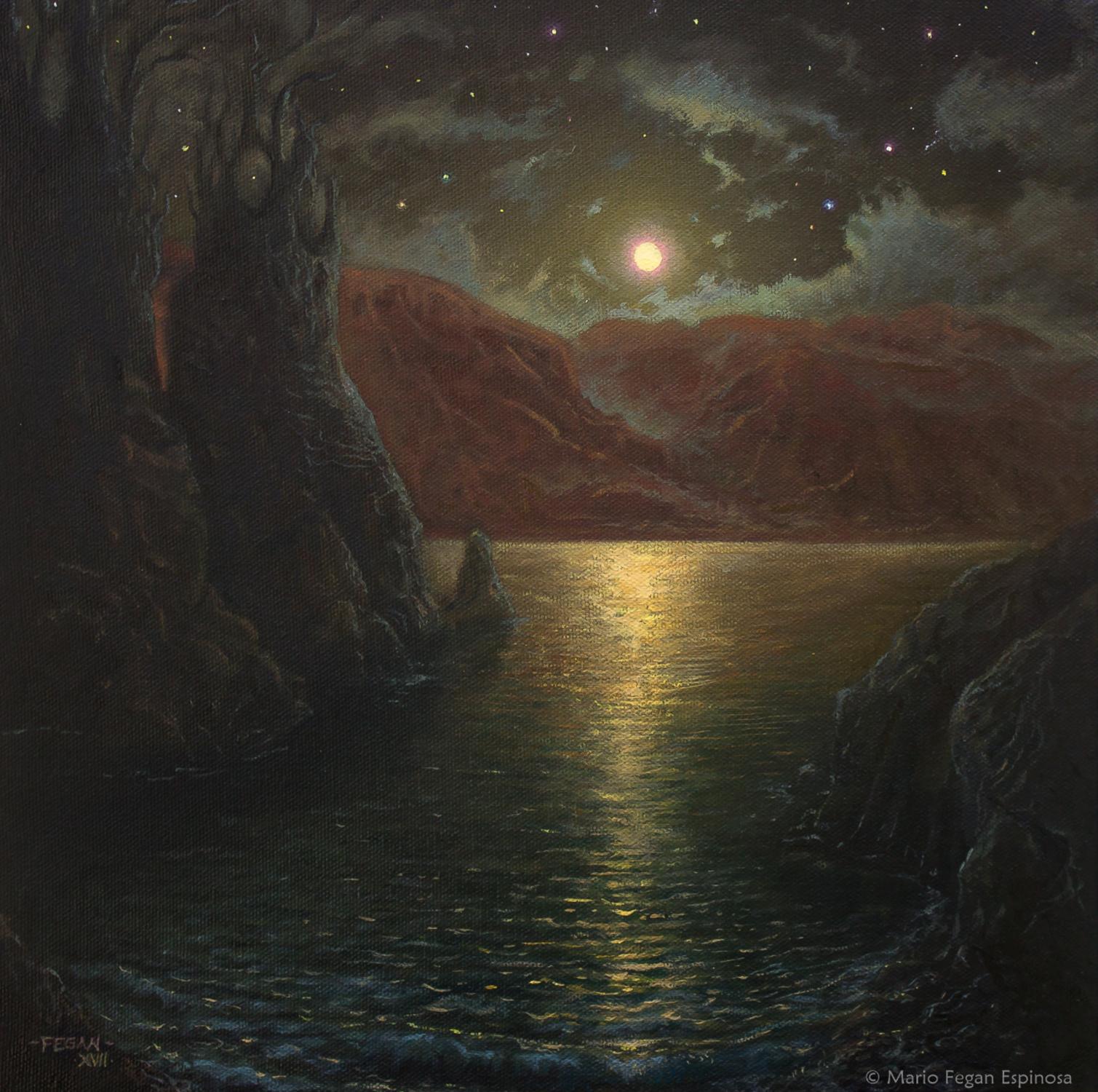 Astral Cove  Artwork by Mario  Fegan