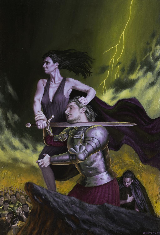 Evil Triumphs Artwork by Matthew Huntley