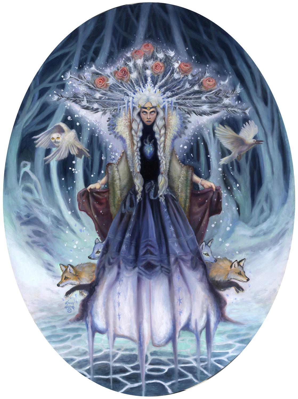 Snow Queen Artwork by Kelley Hensing