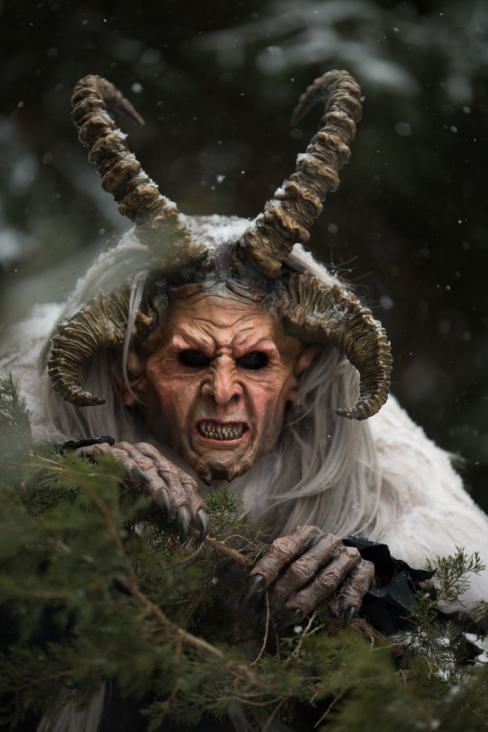 Krampus  Artwork by Arend Smith