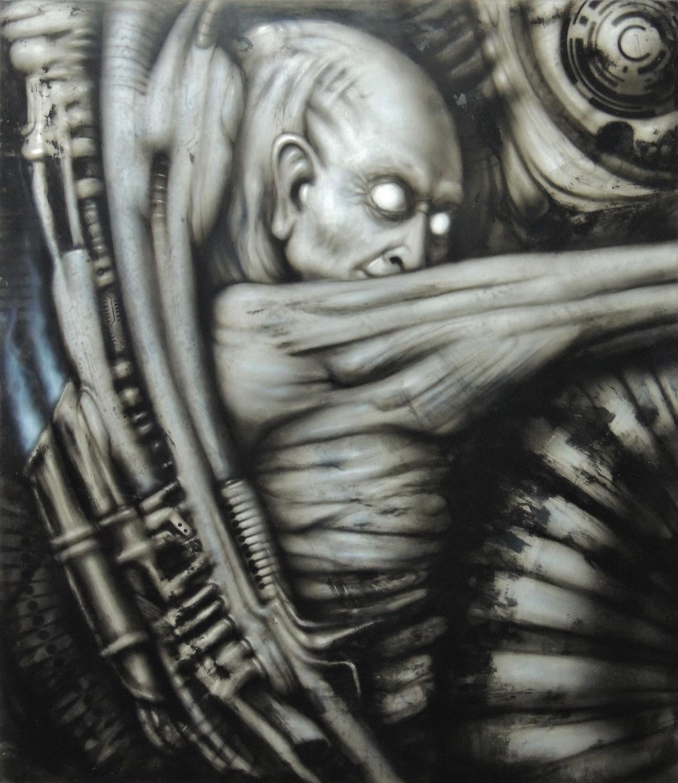Mechanoid #2 Artwork by Francis Dooley