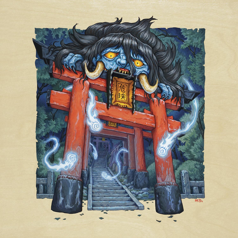 Otoroshi Artwork by Lance Red