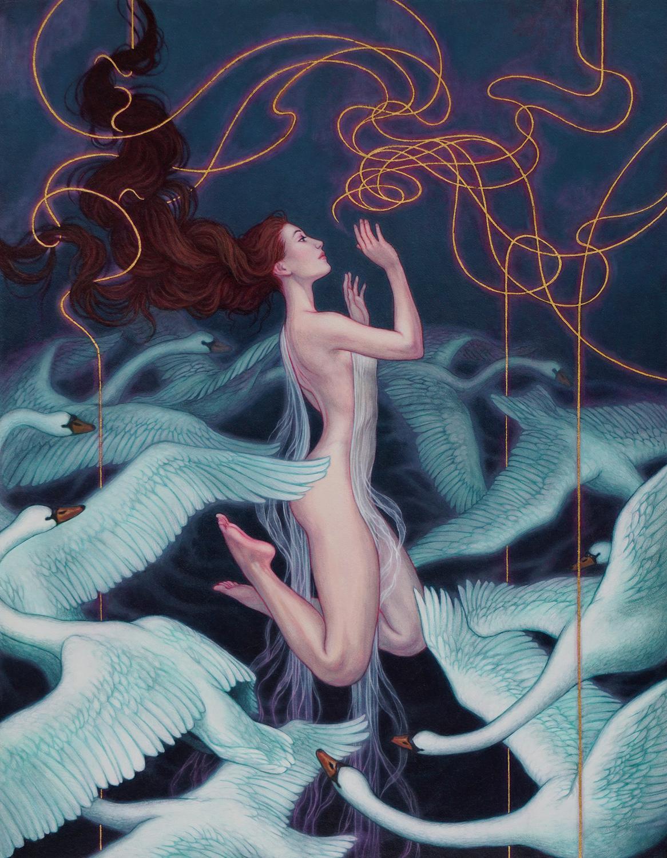 Mnemosyne Artwork by Kaysha Siemens