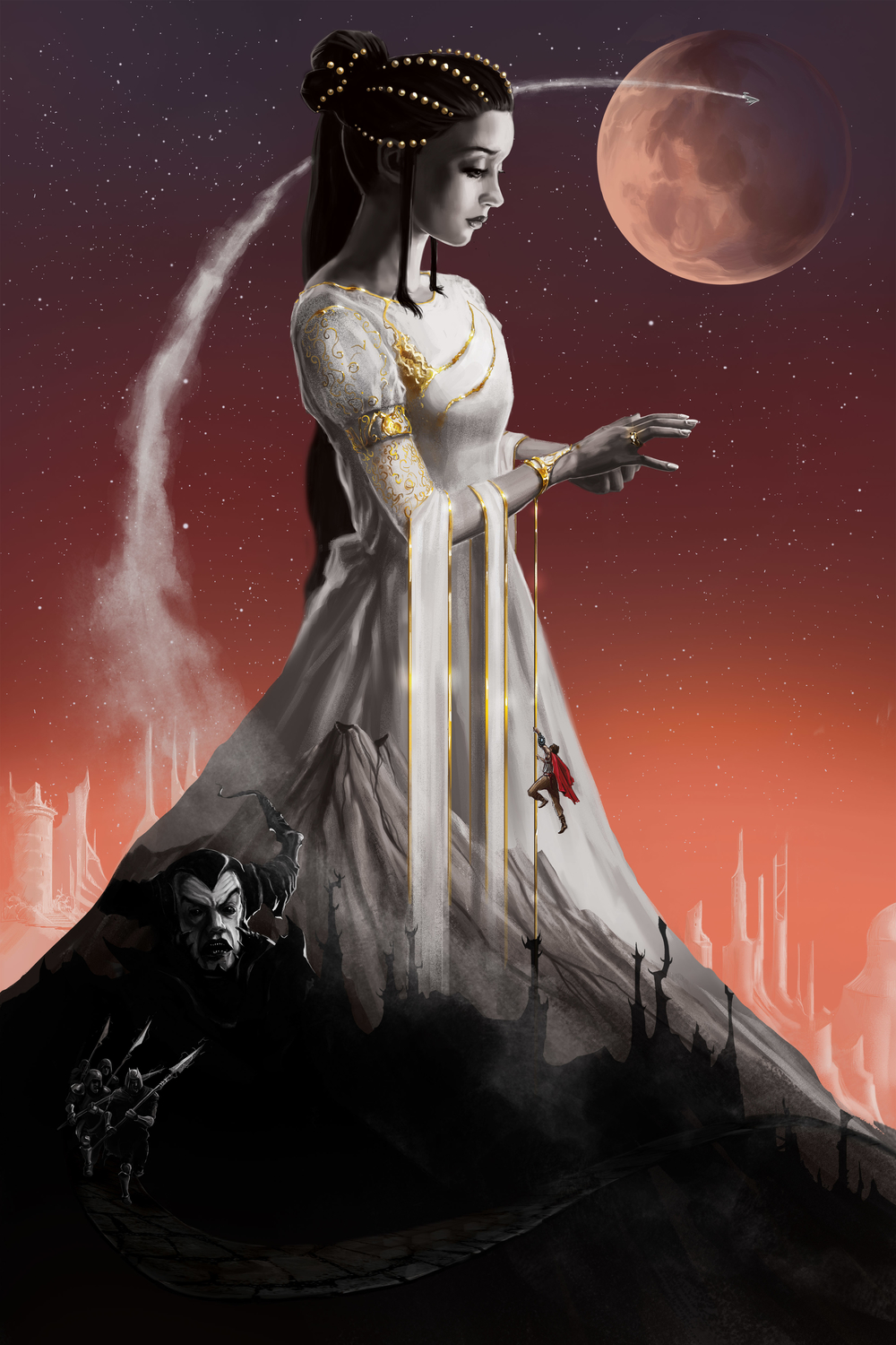 The Empress and the Thief Artwork by Adam Schmidt