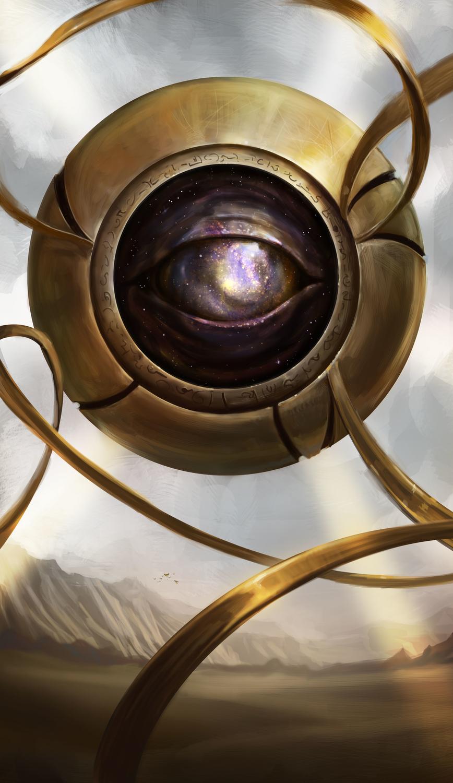 The Orb - Judgement and True Sight Artwork by Adam Schmidt