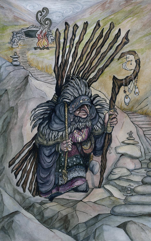 The Cailleach Artwork by Rachel Quinlan