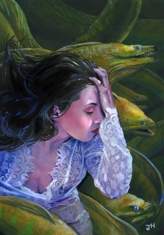 Sea Queen Artwork by Jack Hoyle