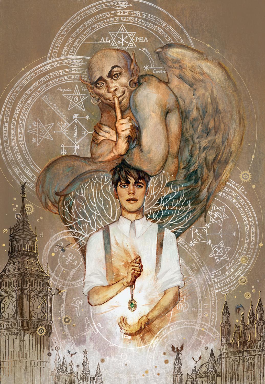 Bartimaeus Book I: The Amulet of Samarkand Cover Art Artwork by Varsam Kurnia