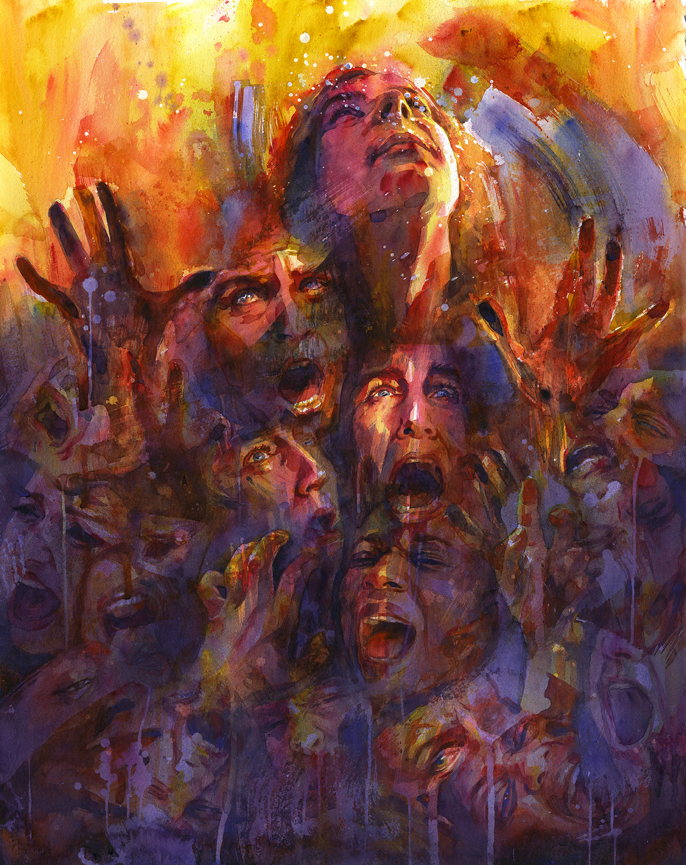 Anguish Artwork by Joanna Barnum