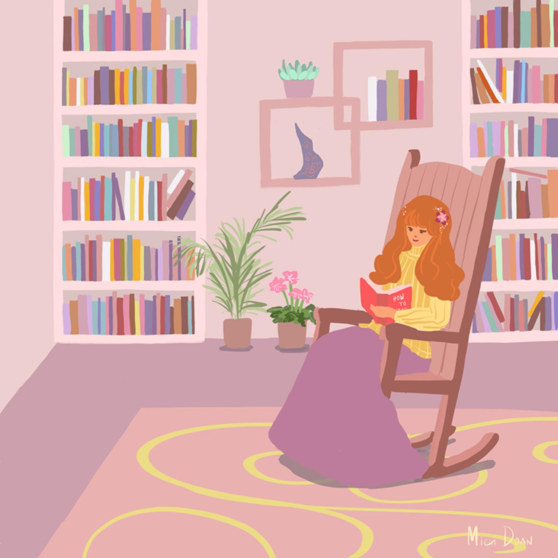 Cozy Artwork by Michi Doan