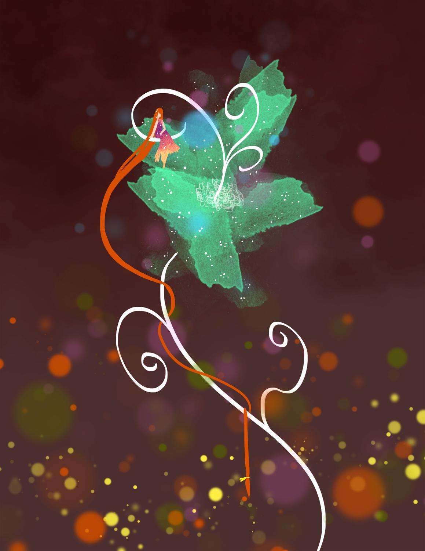 Rapunzel Artwork by Michi Doan