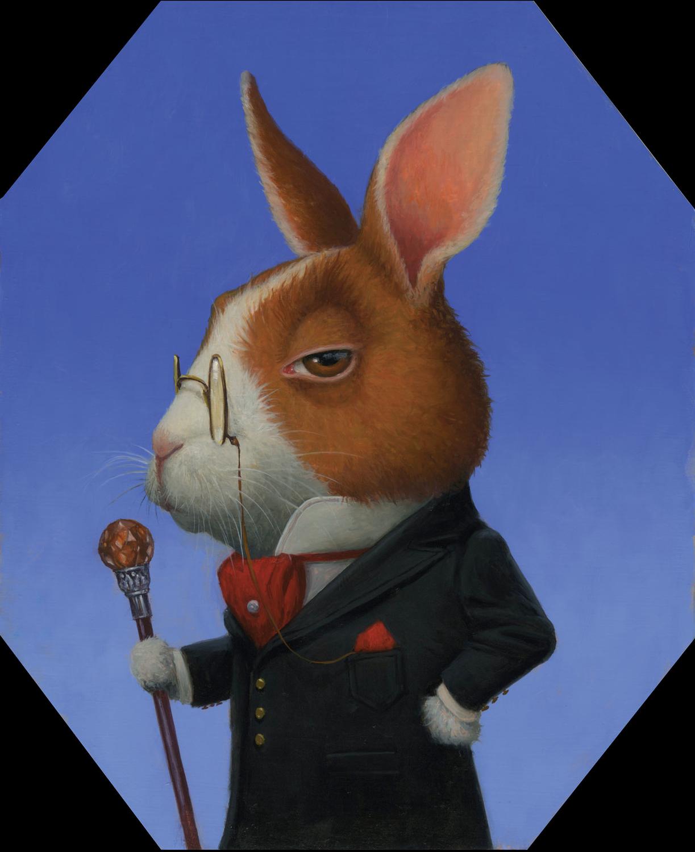 Sir Benjamin Hare Artwork by Lisa Falkenstern
