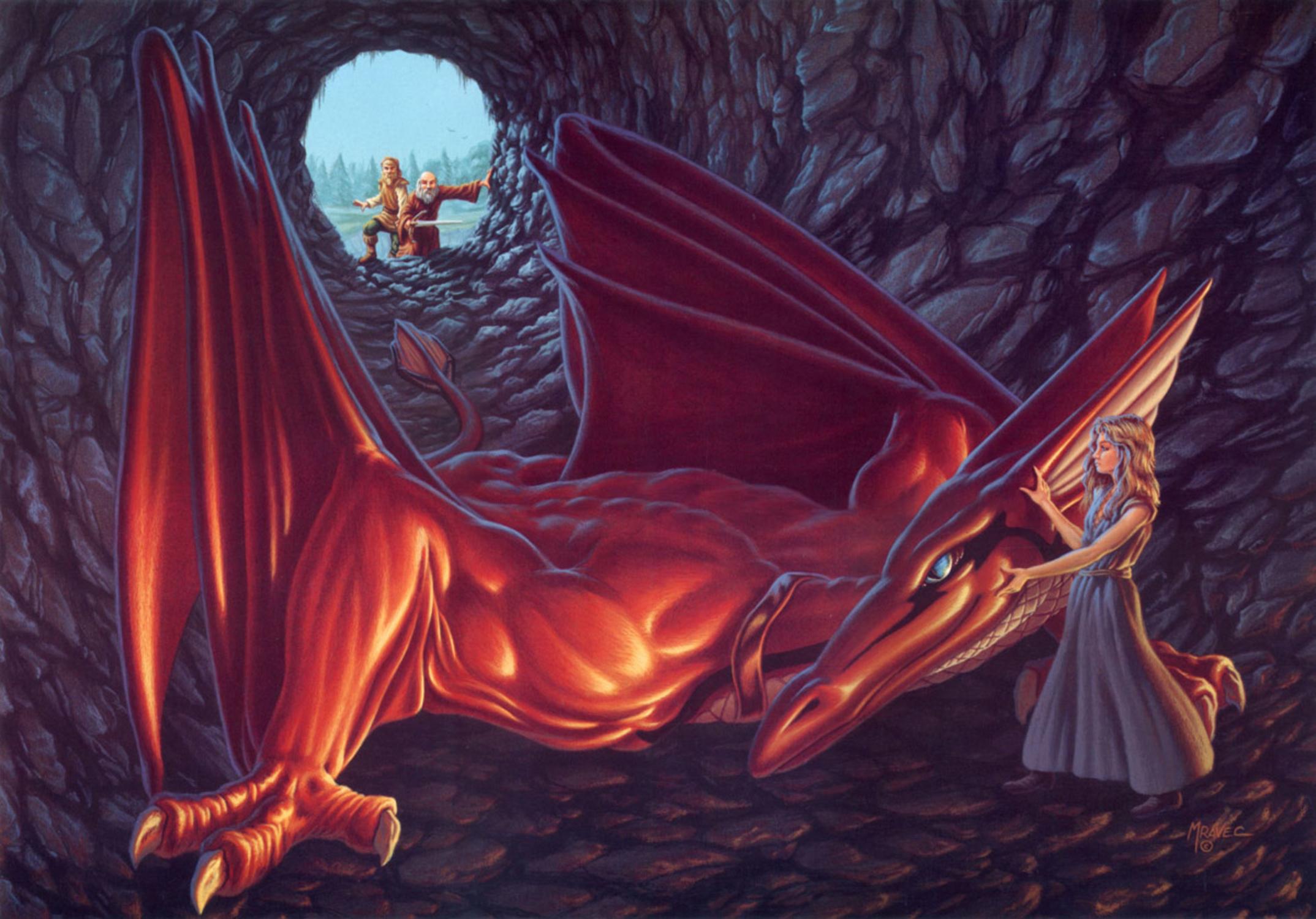 Secret of Cavern's Keep Artwork by James Mravec