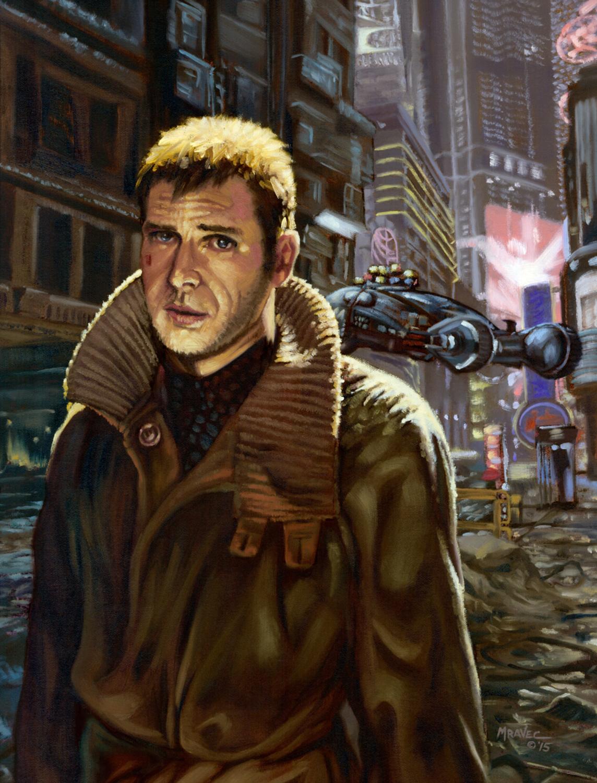 Deckard Artwork by James Mravec